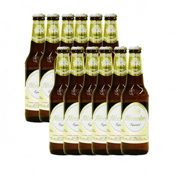 【送料無料】AL-48 アルハンブラ・エスペシャルビール (330ml)12本セット Alhambra Especial 12set01
