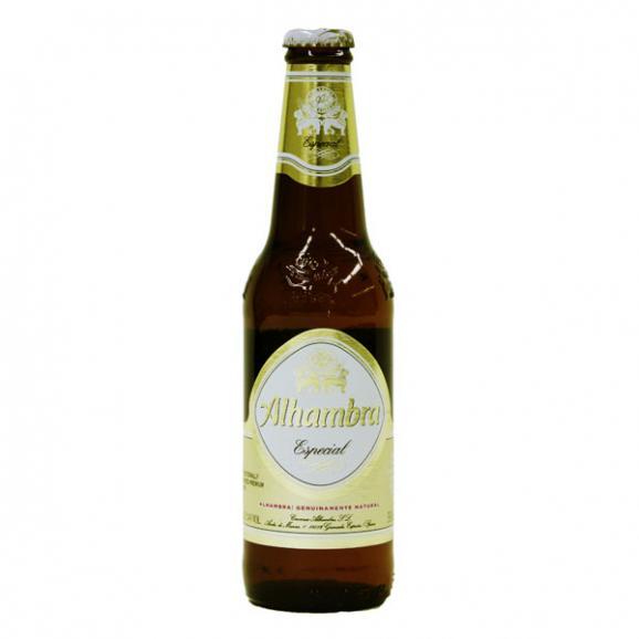 【送料無料】AL-48 アルハンブラ・エスペシャルビール (330ml)12本セット Alhambra Especial 12set02