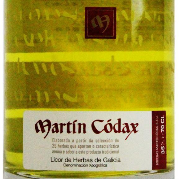 リコール・デ・イエルバス (マーティン・コダック) 700ml  Licor de Hierbas02