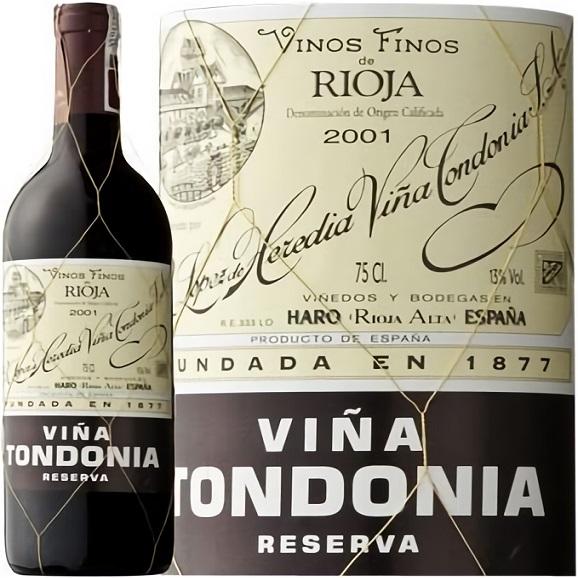 トンドニア・ティント・レセルバ 赤ワイン スペイン 中重口 テンプラニーリョ種 750ml01