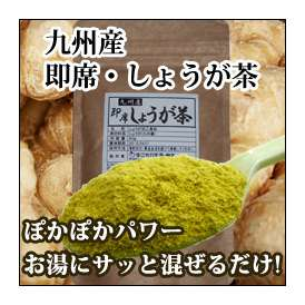 【九州産】 即席・しょうが茶 【商品到着後レビューを記入してメール便送料無料】