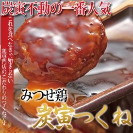 みつせ鶏 炭寅つくねギフトセット 特製焼鳥のタレ2本付【送料無料!】