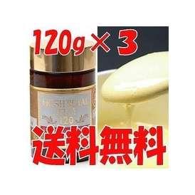 不老長寿の秘薬とも言われ、美容・健康に気を使われている方や、大切な方への贈り物にもオススメです。生ローヤルゼリー 120g×3個