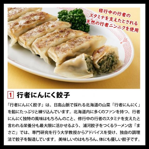 餃子 ぎょうざ ギョウザ まさごの無添加餃子5種類セット 60個(12個入×5種) 無添加うま味調味料使用 北海道 浦河02
