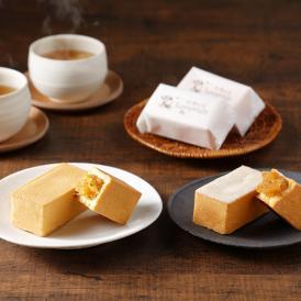 パイナップルケーキと日本限定の商品、りんごケーキをセットにしました。