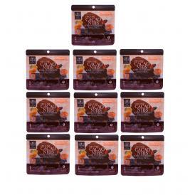 【送料無料 超お得な10袋セット】モバイルカカオスーパーフード+ オーガニックカカオニブ&オーガニックゴールデンベリー