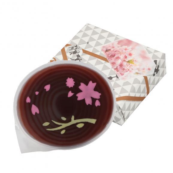 """杢目羊羹(もくめようかん) 丸型 """"桜""""02"""