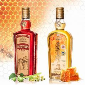 リトアニア国家遺産の蜂蜜酒セット