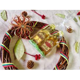 蜂蜜酒&蜂蜜薬草酒ミニチュアボトルセット