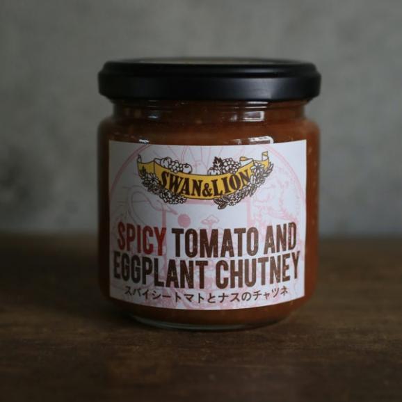 スパイシートマトとなすのチャツネ01