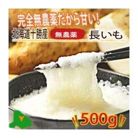 北海道産 無農薬栽培 長芋(ながいも) 500g(1-3本入り)