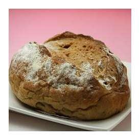 北海道美瑛産 小麦100%  くるみパン3個