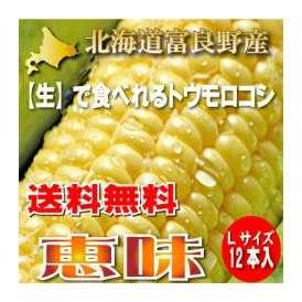 北海道富良野産 恵味 Lサイズ 12本入り【送料無料】