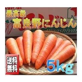 北海道富良野産 低農薬栽培 最高級ニンジン(にんじん) 5kg【送料無料】