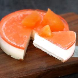 チーズケーキ 送料無料 富良野 レアチーズケーキ (メロン) ギフト配送可能 別途送料が発生する地域あり