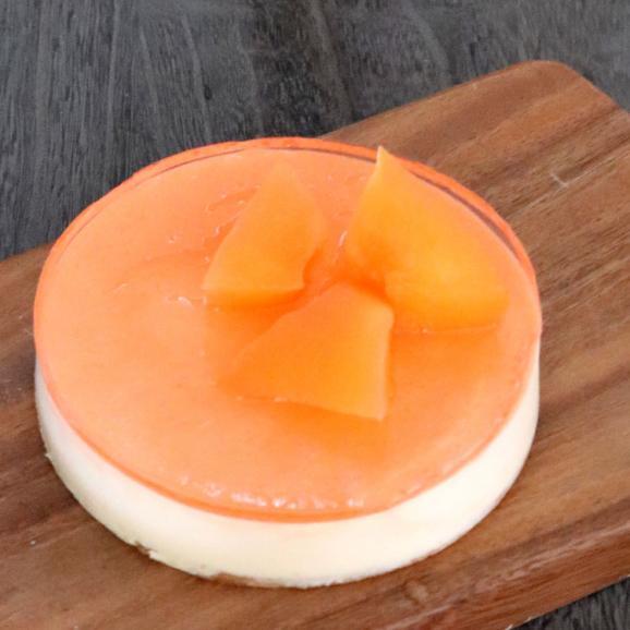 チーズケーキ 送料無料 富良野 レアチーズケーキ (メロン) ギフト配送可能 別途送料が発生する地域あり02