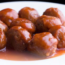 【冷凍】徳用!メガ盛りタレ付き肉だんご1kg(12時までの御注文で当日発送、土日祝を除く)【鶏/肉団子/にくだんご/ミートボール/惣菜/お取り寄せ/冷凍】