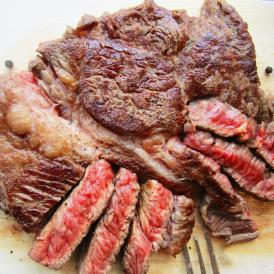 【冷凍】ボリューム満点! 1ポンドステーキ 牛肩ロース 450g【 BBQ バーベキュー 焼肉 やきにく 】