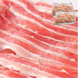 訳あり【冷凍】豚バラ スライス 1/4カット たっぷり メガ盛り 1Kg(数量限定SALE)500g×2パック(12時までのご注文で当日発送・土日祝日を除く)