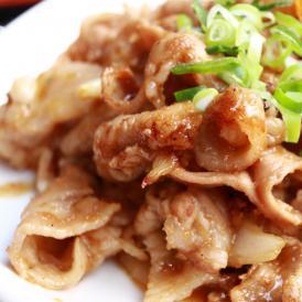 豚肩ロース 生姜焼き タレ漬け 200g  焼くだけ簡単 豚肉 炒め物 惣菜 おかず お試し 冷凍 肉