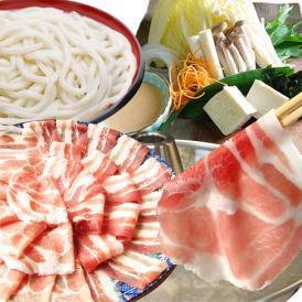 【送料無料】オリーブ豚 肩ロース&バラ しゃぶしゃぶ 食べ比べ 2人前 ギフト ブランド豚 <*冷凍便>