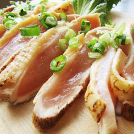 阿波尾鶏 むね たたき 200g 胸肉 鶏肉 たたき 鶏たたき 鳥 タタキ 逸品 おつまみ 取り寄せ 国産 徳島【冷凍】