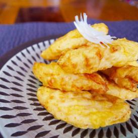 ふっくら鶏天 山盛り1kg レンジでチン それだけでこの美味しさ フリッター ささみ ササミ とり 鳥 天ぷら 天麩羅 肉 惣菜