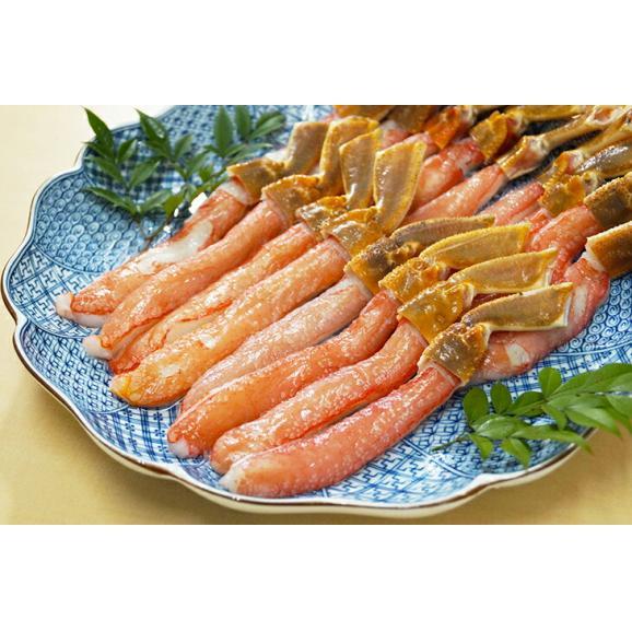 特大を超えた【極太】生 本ズワイ蟹フルポーション 1kg01