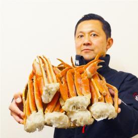 ボイル本ズワイ蟹脚 2kg カニ かに 船上凍結 グルメ ずわい お歳暮 60代 70代  ギフト 食品