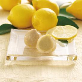 【夏季限定】栗苞の葛に瀬戸内レモンを加えた爽やかなレモン感が楽しめる栗苞です。