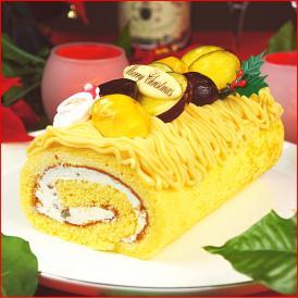 クリスマスケーキ 2021 予約 送料無料 和栗のモンブランノエル ギフト プレゼント スイーツ 早割 早期割引