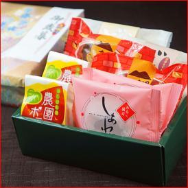 当店人気の菓子5種類の詰め合わせ。