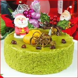 クリスマスケーキ 2021 予約 送料無料 抹茶クリスマスケーキ 5号 ギフト プレゼント スイーツ 早割 早期割引