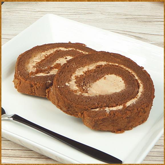訳あり ロールケーキ スイーツ プレゼント お取り寄せ カットロール チョコレート 8切れ03