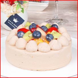 スイーツ 送料無料 誕生日ケーキ ギフト フルーツ チョコ 生デコレーションケーキ 5号 誕生日プレート ろうそく 付き