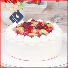 スイーツ 送料無料 誕生日ケーキ ギフト ミックスベリー 生デコレーションケーキ 5号 誕生日プレート ろうそく 付き