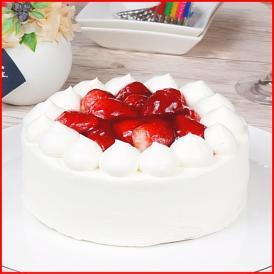 スイーツ 送料無料 誕生日ケーキ ギフト いちご 生デコレーションケーキ 5号 誕生日プレート ろうそく 付き