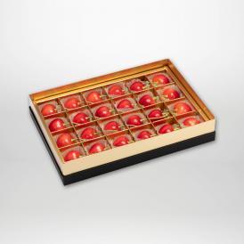 ダイアナブライトの珠玉のみやび箱詰2~3Lサイズ24粒入りです。
