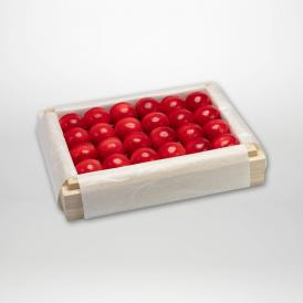 ダイアナブライトの特選桐箱詰2~3Lサイズ約300gです。