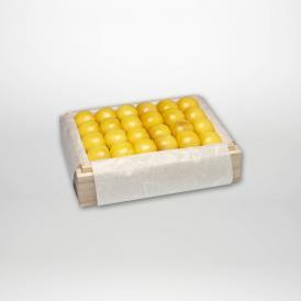 月山錦の特選桐箱詰2~3Lサイズ約500gです。