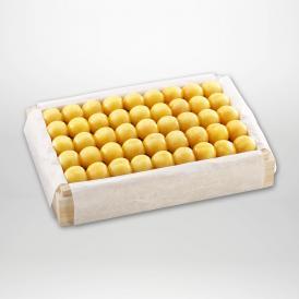 月山錦の特選桐箱詰2~3Lサイズ約1,100gです。