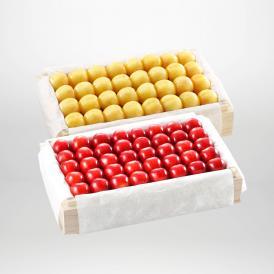 紅秀峰・月山錦の特選桐箱詰2~3Lサイズ約700gです。