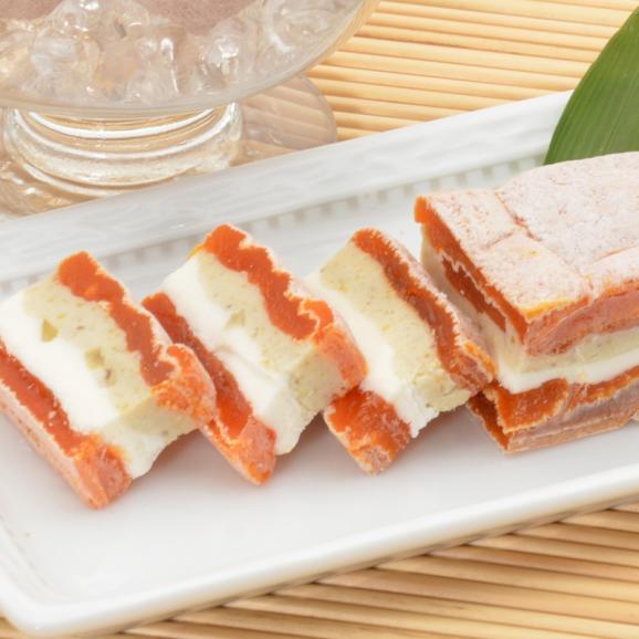 市田柿クリームチーズサンド【栗】 150g×2本入り02