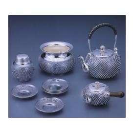 銀製茶器・茶道具 純銀製 茶器 5点セット 大野芳光作