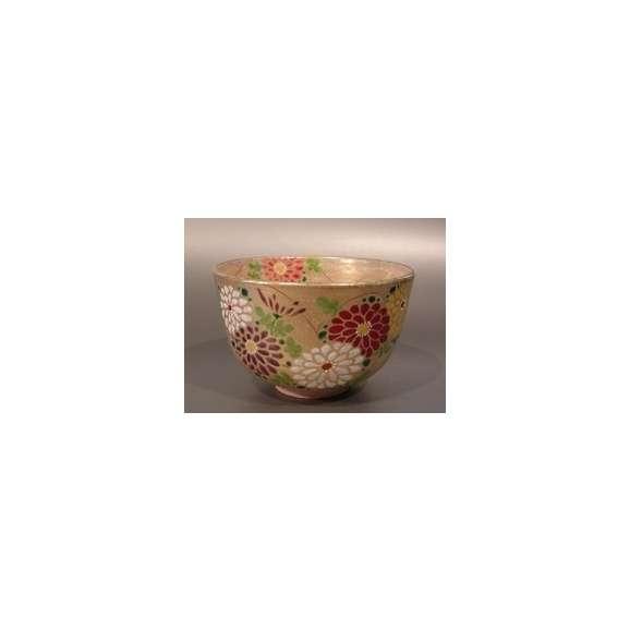 茶碗 金砂子 菊 N-07901