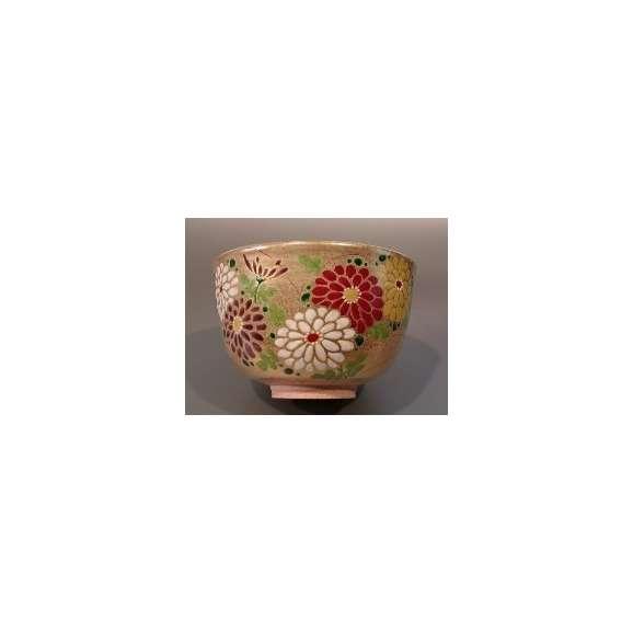 茶碗 金砂子 菊 N-07902