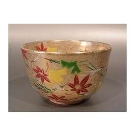 茶碗 金砂子 吹寄