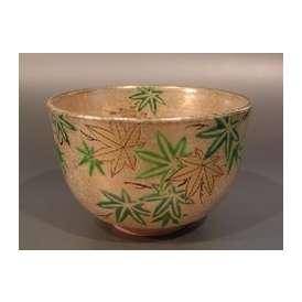 茶碗 金砂子 青楓