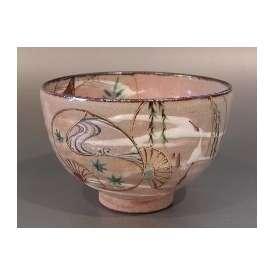 茶碗 乾山 団扇(うちわ)