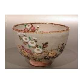 茶碗 乾山 菊